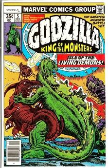 Godzilla #5