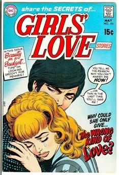 Girls' Love Stories #151