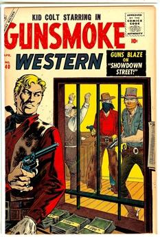 Gunsmoke Western #40