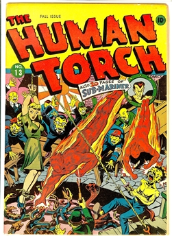 Human Torch #13