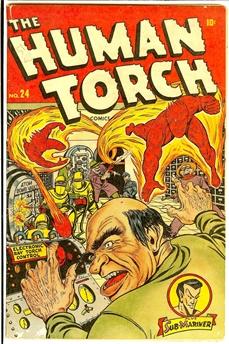 Human Torch #24