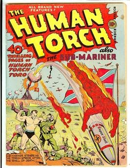 Human Torch #5 (#4)