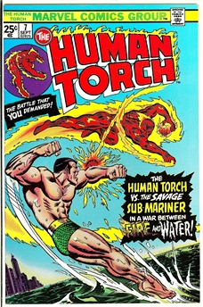 Human Torch #7