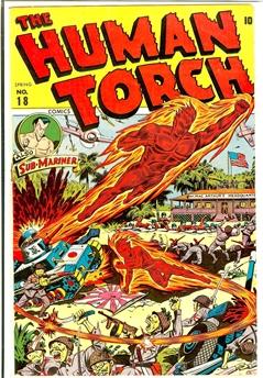 Human Torch #18