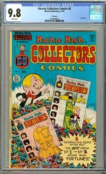 Harvey Collectors Comics #8