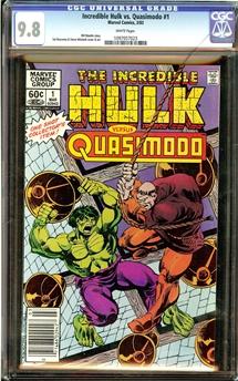Incredible Hulk vs. Quasimodo #1