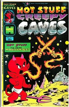 Hot Stuff Creepy Caves #1