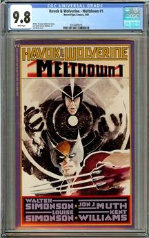 Havok and Wolverine - Meltdown #1