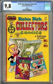 Harvey Collectors Comics #14