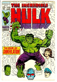 Incredible Hulk #116