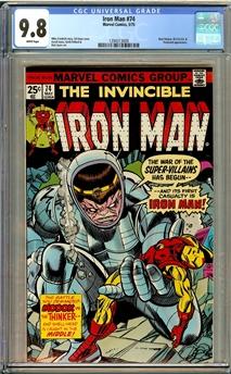 Iron Man #74
