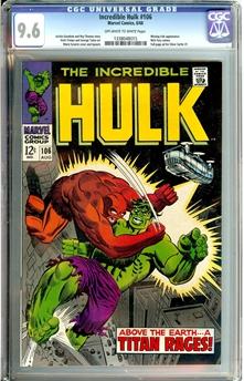 Incredible Hulk #106