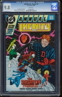 Infinity Inc. Annual #2
