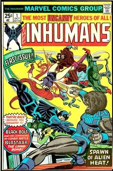 Inhumans #1