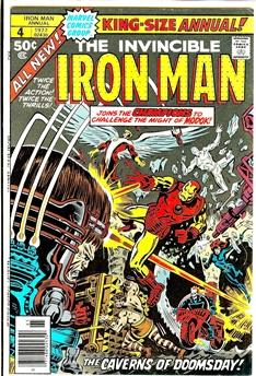 Iron Man Annual #4