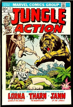 Jungle Action #1