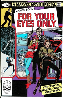 James Bond For Your Eyes Only #1