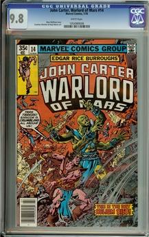 John Carter Warlord of Mars #14