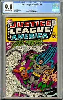 Justice League of America #68