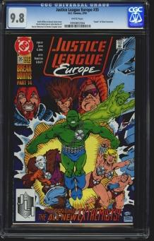 Justice League Europe #35