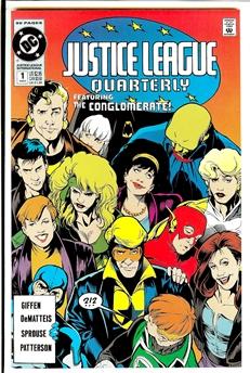 Justice League Quarterly #1