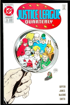 Justice League Quarterly #3
