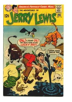 Adventures of Jerry Lewis #110