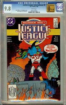 Justice League International #9