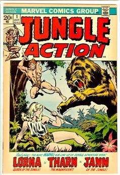 Jungle Action #1