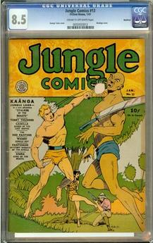 Jungle Comics #13