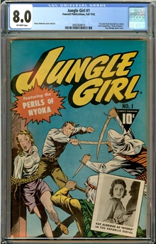Jungle Girl #1