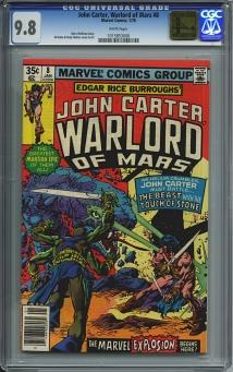 John Carter Warlord of Mars #8