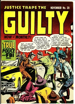 Justice Traps the Guilty #20