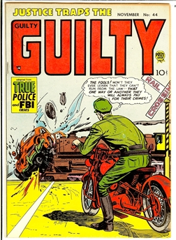 Justice Traps the Guilty #44