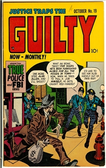 Justice Traps the Guilty #19