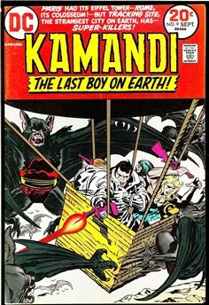 Kamandi #9
