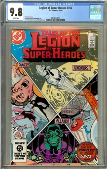 Legion of Super-Heroes #316