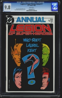 Legion of Super-Heroes Annual (Vol 3) #1