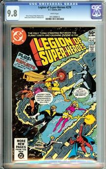 Legion of Super-Heroes #278
