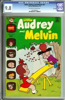 Little Audrey & Melvin #57