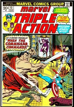 Marvel Triple Action #12