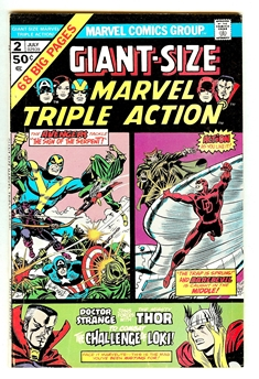 Marvel Triple Action Giant-Size #2