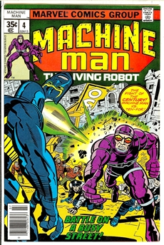 Machine Man #4