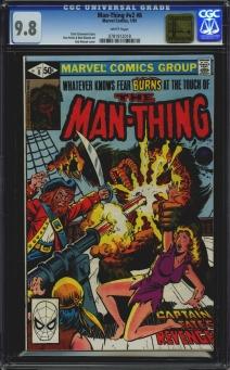 Man-Thing (Vol 2) #8