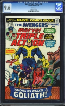 Marvel Triple Action #22