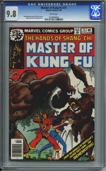 Master of Kung Fu #73