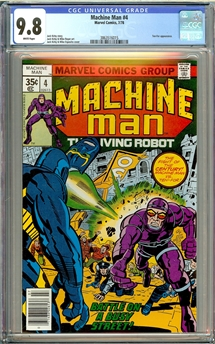 Machine Man #4