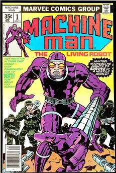 Machine Man #1