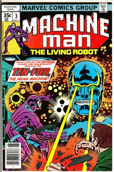 Machine Man #3