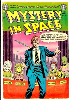 Mystery in Space #10